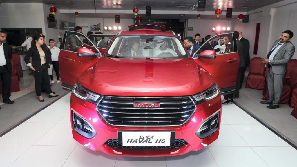 chinas suffering car industry